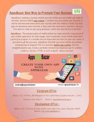 AppsBazar Best Way to Promote Your Buisness.pdf