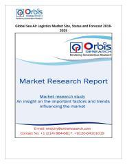 Global Sea Air Logistics Market Size, Status and Forecast 2018-2025.pdf