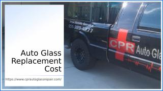 auto glass replacement cost.ppt