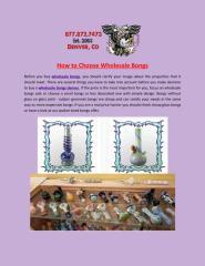 How_to_Choose_Wholesale_Bongs.PDF