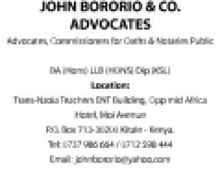 JOHN BORORIO _& CO. ADVOCATES Advert_.pdf