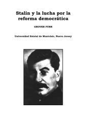 grover furr - stalin y la lucha por la reforma democratica.pdf