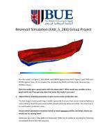 Reservoir Simulation group project.pdf