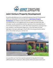 Joint Venture Property Development.pdf