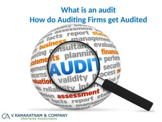 How do Auditing Firms get Audited (2).pptx