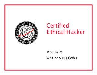 CEHv6 Module 28 Writing Virus Codes.pdf