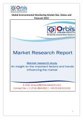 Global Environmental Monitoring Market.docx
