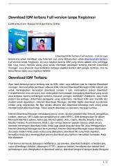 download idm terbaru full version tanpa registrasi.pdf