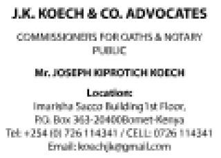 J.K. Koech Advocate Advert.pdf