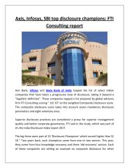 Axis, Infosys, SBI top disclosure champions FTI Consulting report.pdf