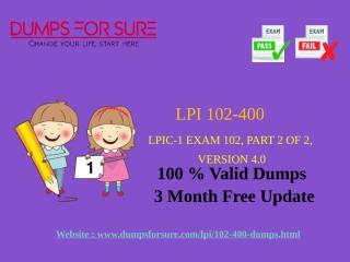 LPI 102-400 Dumps.pptx