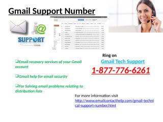 Gmail –Support- Number (24).pptx
